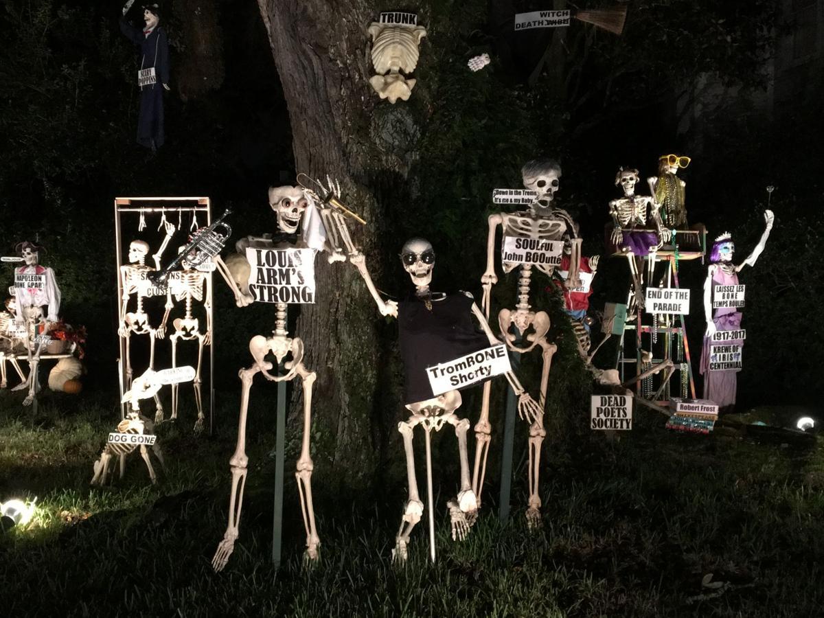 Darryl Berger halloween display