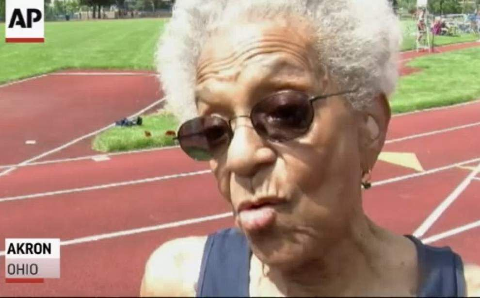 99-year-old sprinter steals show at Gay Games _lowres