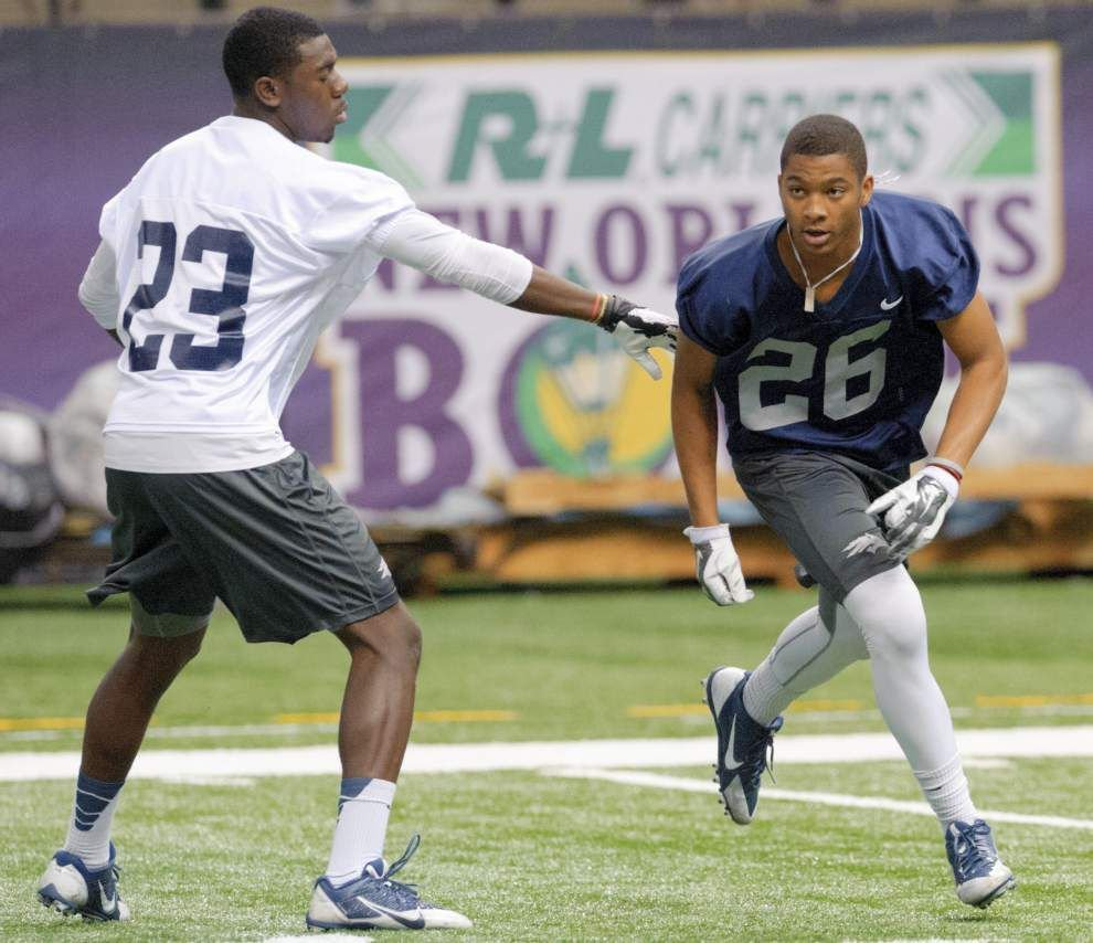 Nevada defensive back Kendall Johnson, a St. Thomas More graduate, relishes trip to New Orleans Bowl _lowres