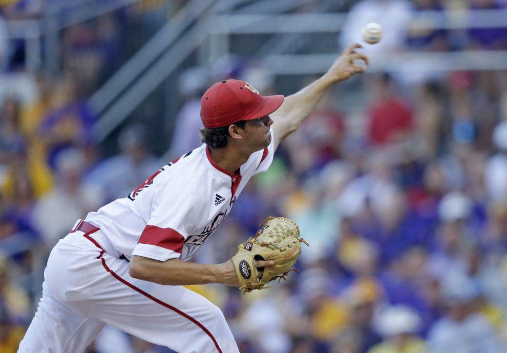 Going deeper: Ragin' Cajuns pitching staff is in line to spread the innings around a little more this year _lowres