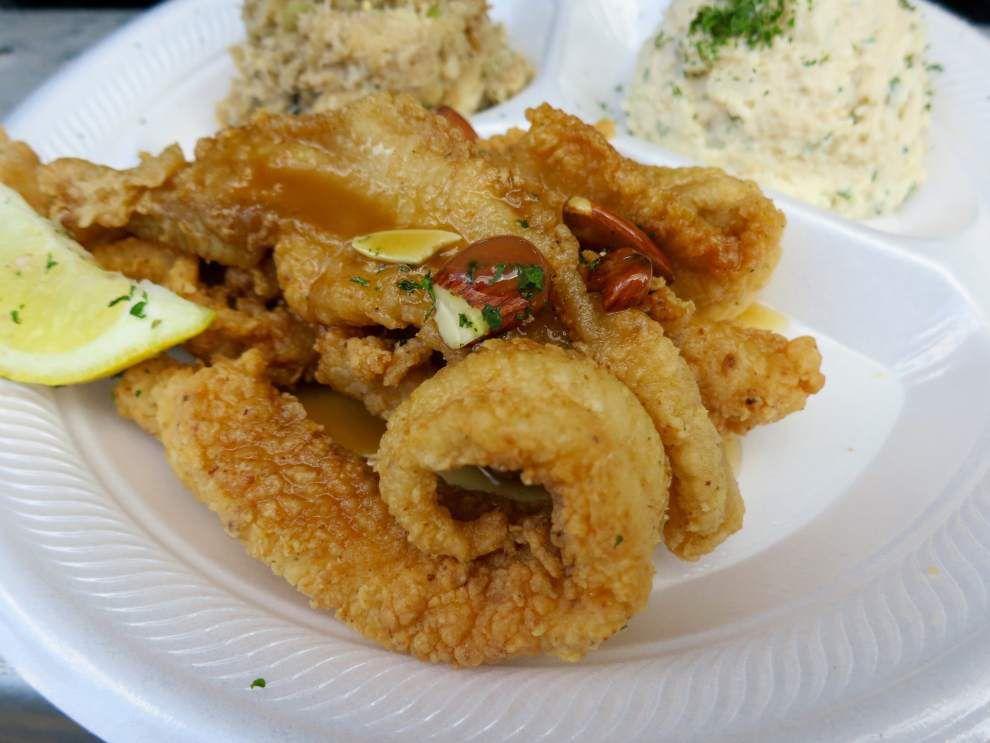 Jazz Fest food quick pick: catfish almondine _lowres