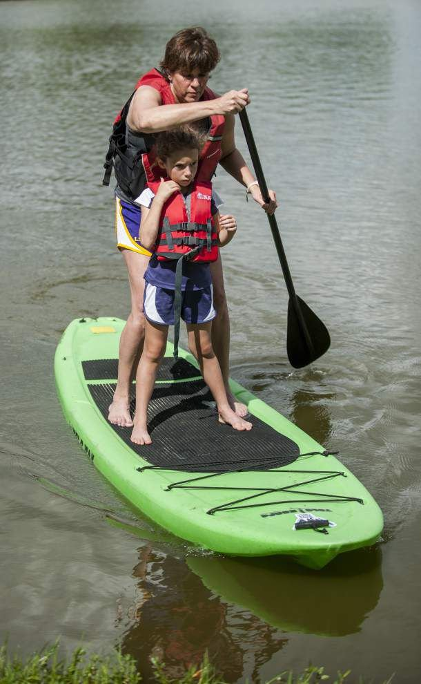 Paddleboarding's popularity on the rise in Baton Rouge _lowres