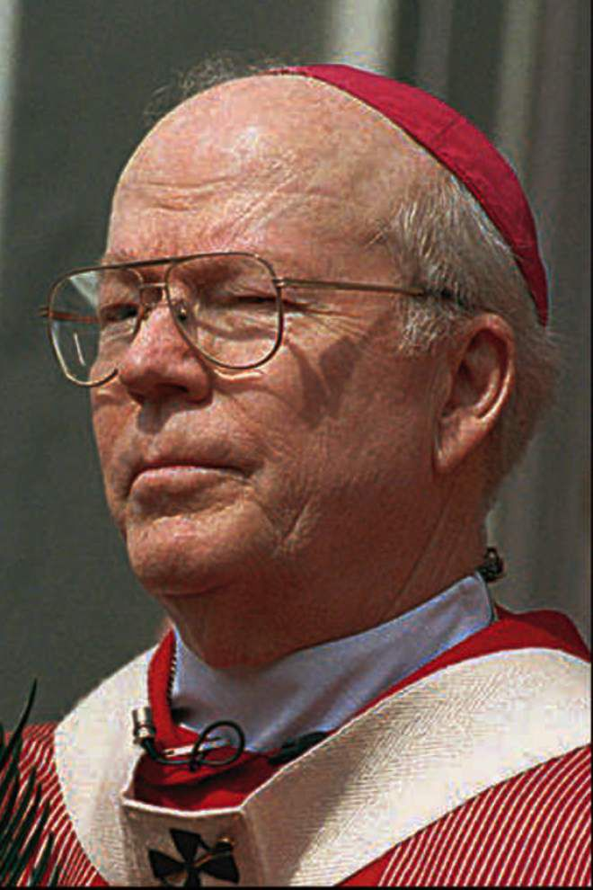 Two days of funeral services for Archbishop Francis Schulte begin today _lowres