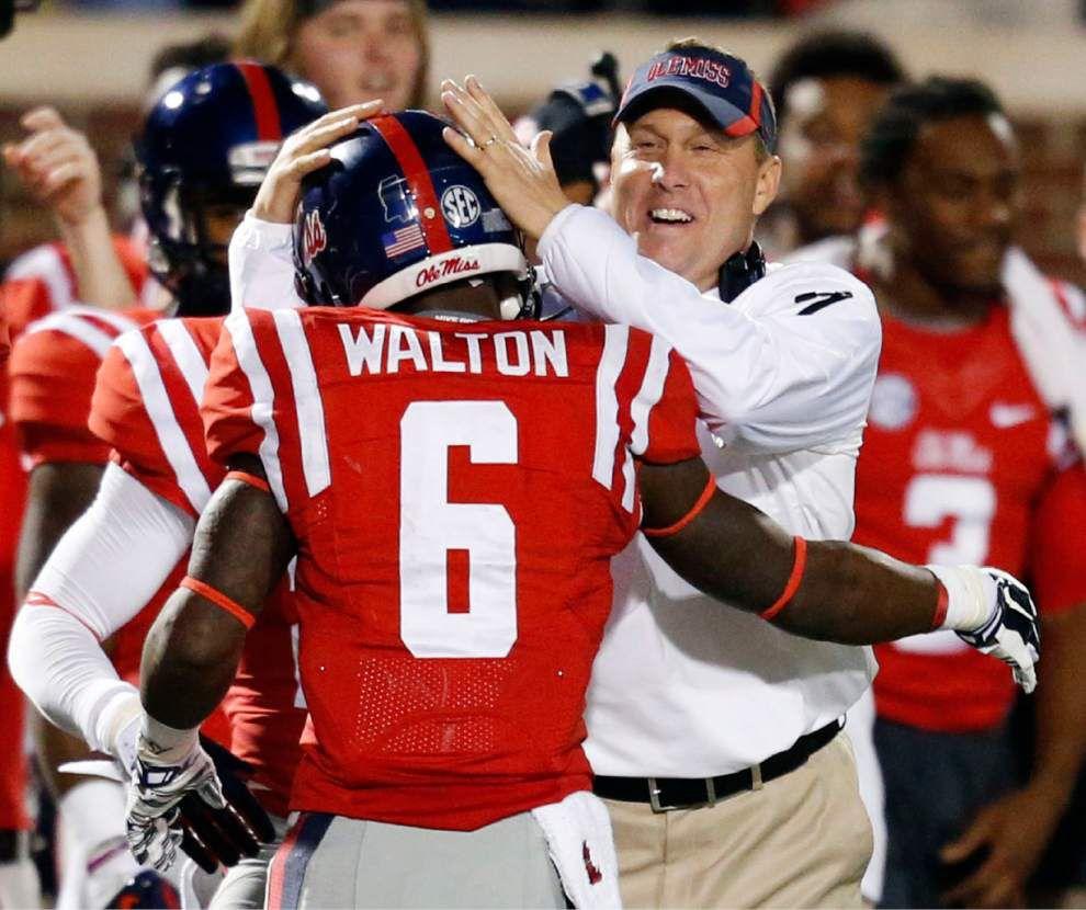 SEC roundup: Rebels collar Bulldogs in Egg Bowl _lowres