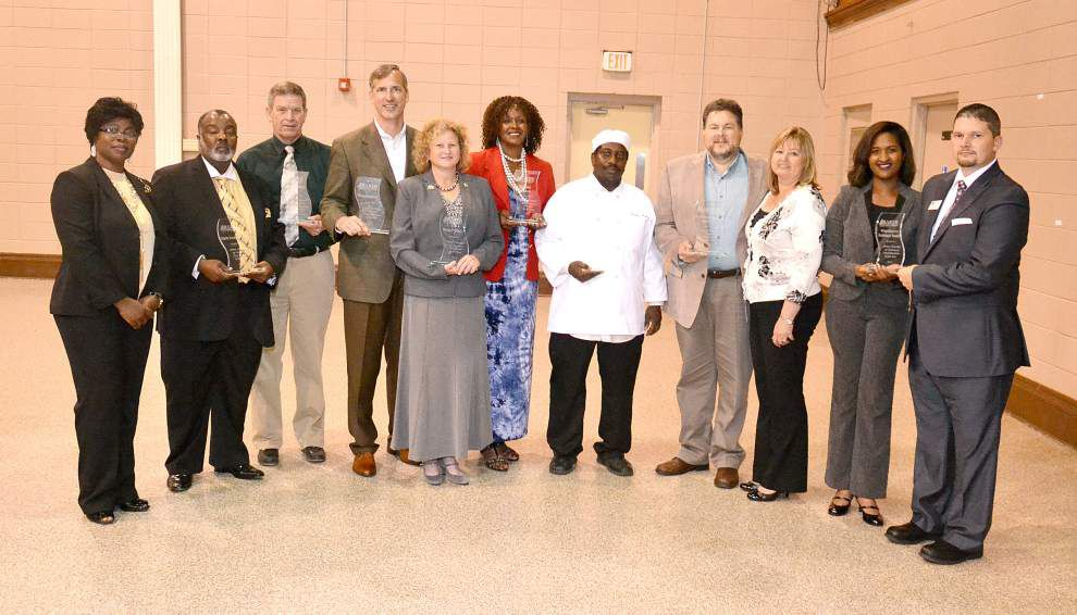 Baker Chamber awards area businesses, people _lowres