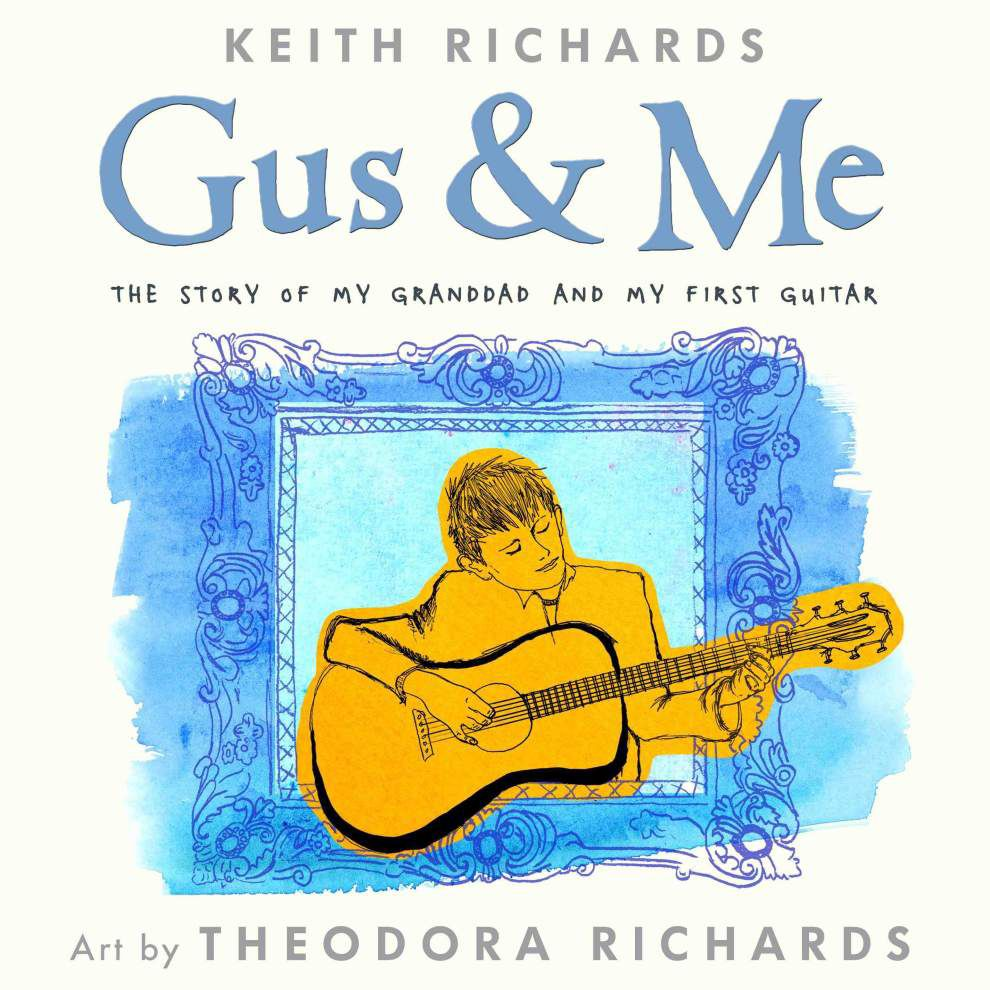 Keith Richards picture book out this fall _lowres