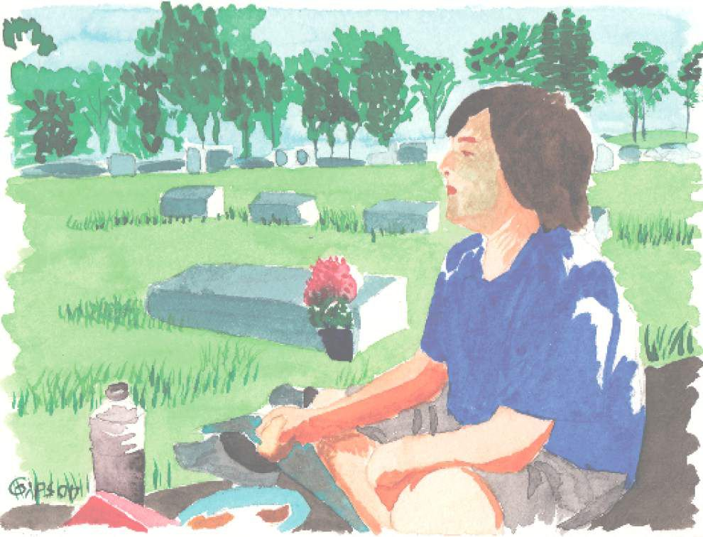 Human Condition: Cemetery cleaning and plenty of deviled eggs _lowres