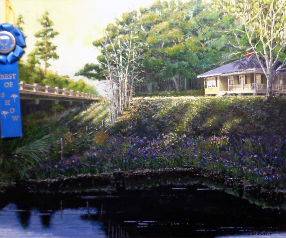 Slidell Art League presents iris-themed show at Slidell library _lowres