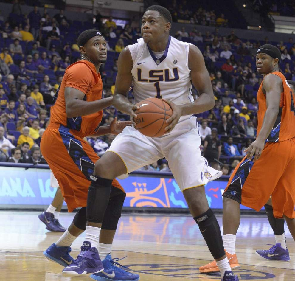 Jarell Martin announces that he is leaving LSU to make himself eligible for the NBA draft _lowres