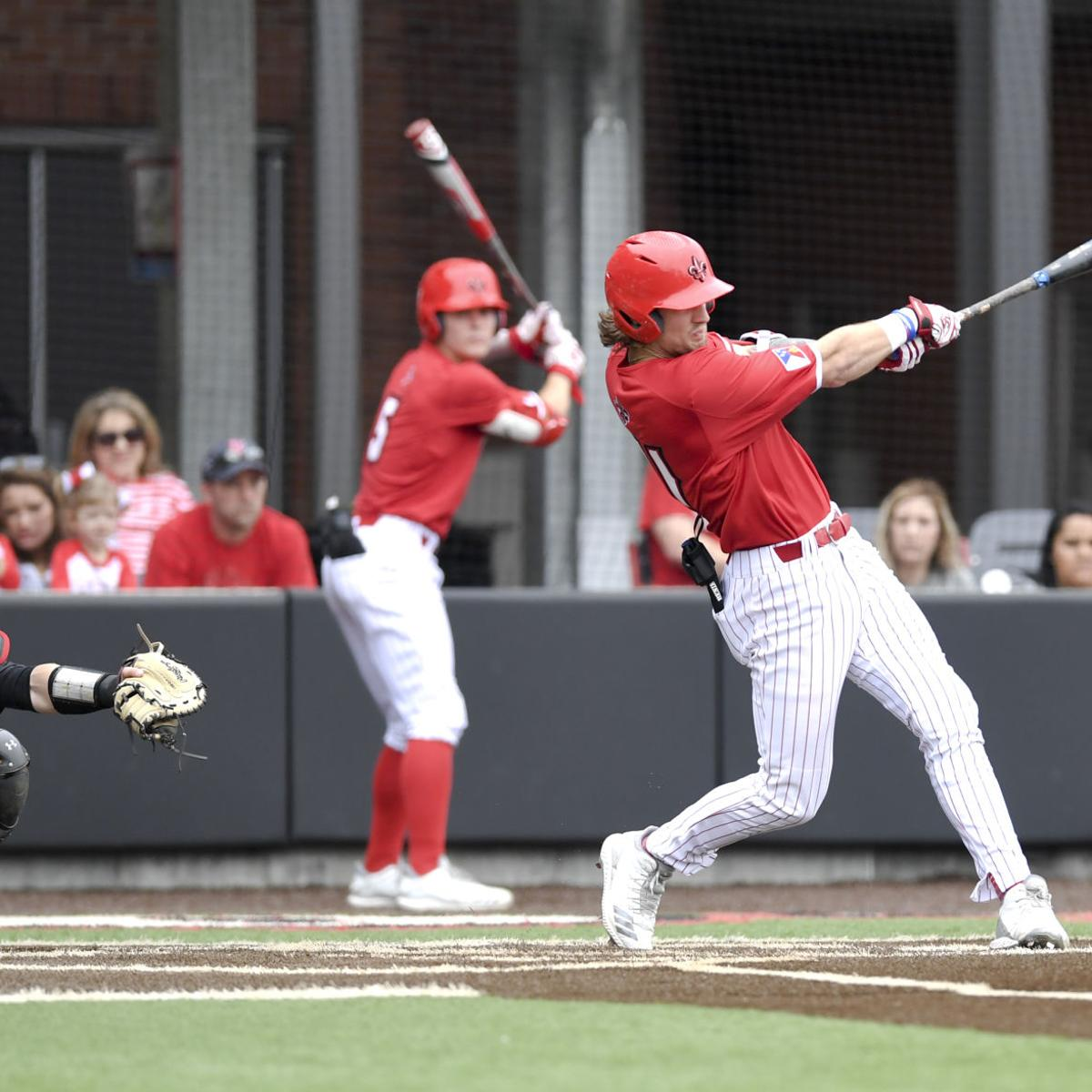 Perrin, Schultz carry Cajuns to key win to claim first Sun