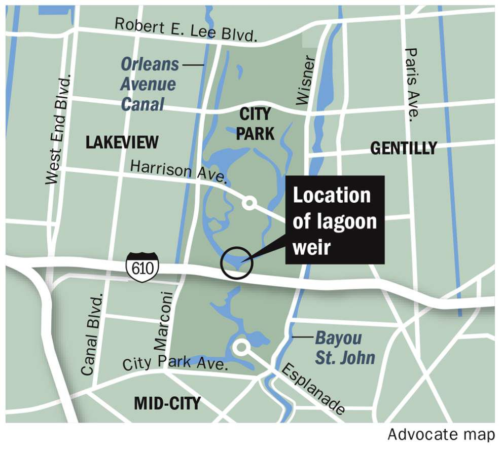 City Park lagoons eyed as giant retention pond to abate flooding from future storms _lowres