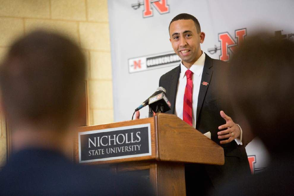 Nicholls State names Riley new men's basketball coach _lowres
