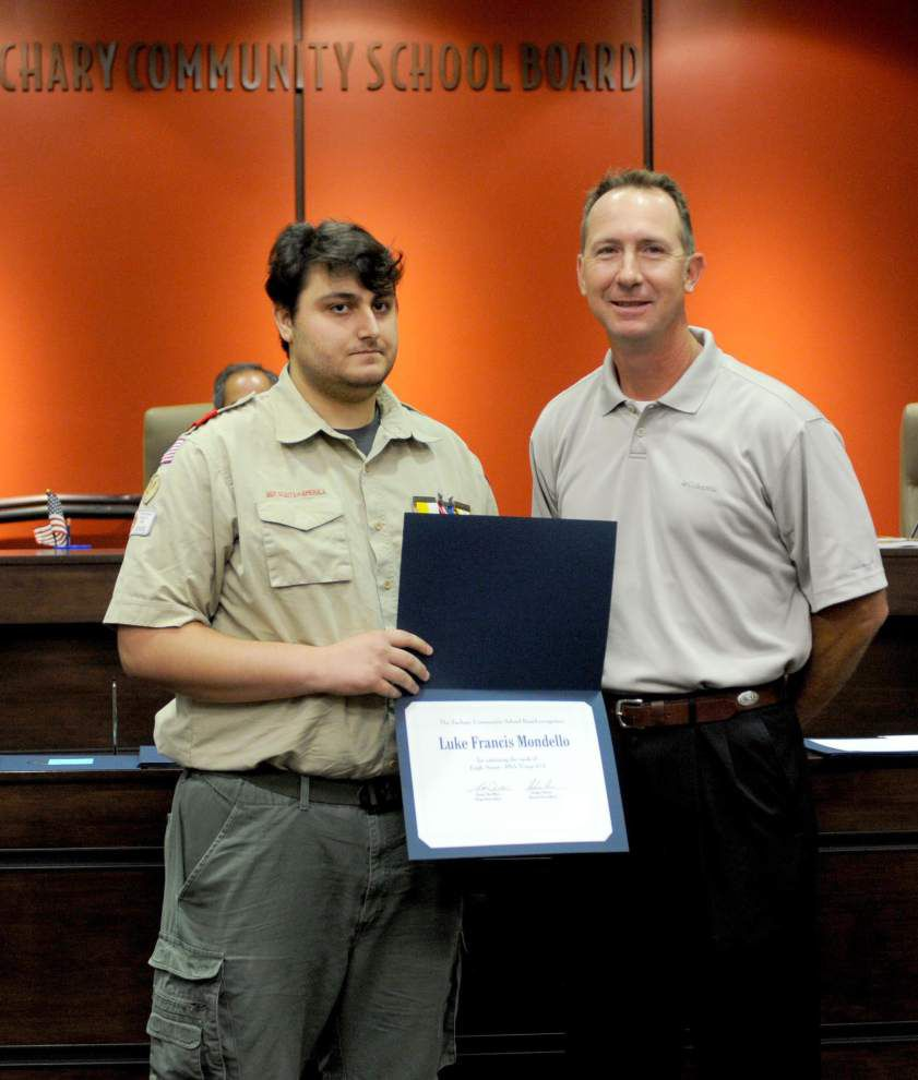 Zachary Boy Scouts earn Eagle ranking _lowres