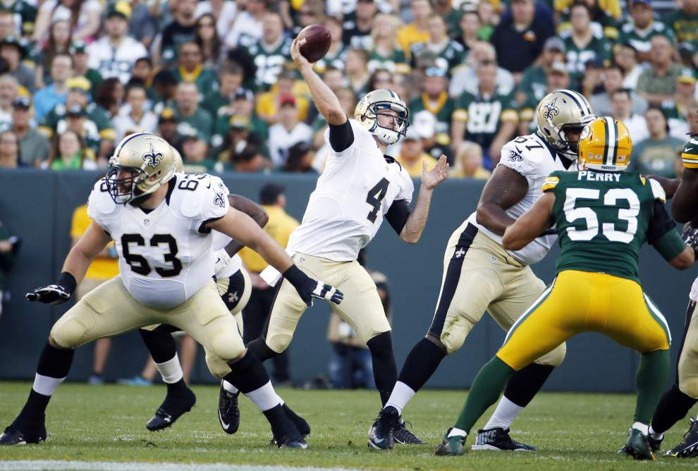 Ryan Griffin could be on the outside looking in after Saints drop preseason finale 38-10 at Green Bay _lowres