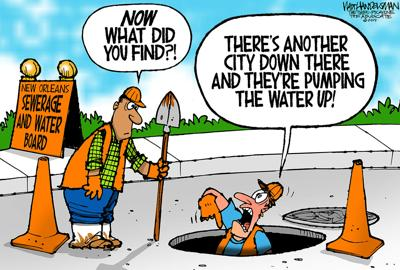 Walt Handelsman: Record-breaking number of entries in latest cartoon caption contest! Here are your winner and finalists!
