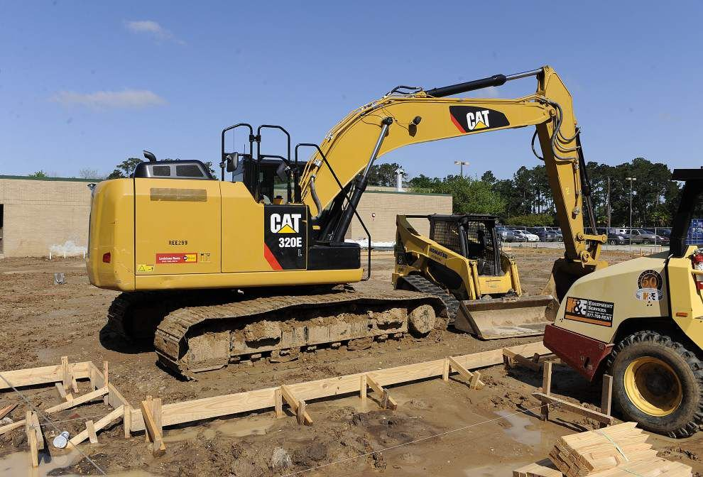 Weather hampers Lafayette school construction projects _lowres