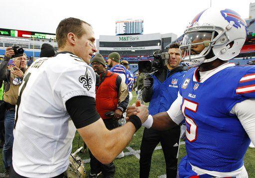 Saints Bills Football