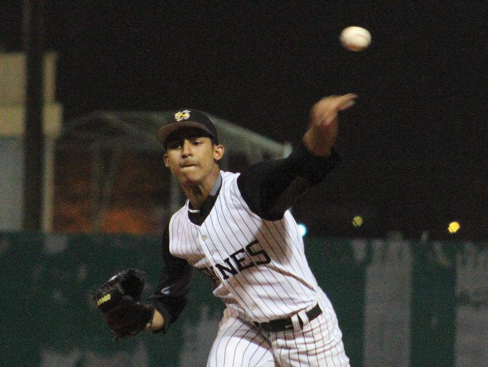 Haynes Academy starting pitcher Cristian Poché sparks win over Country Day _lowres