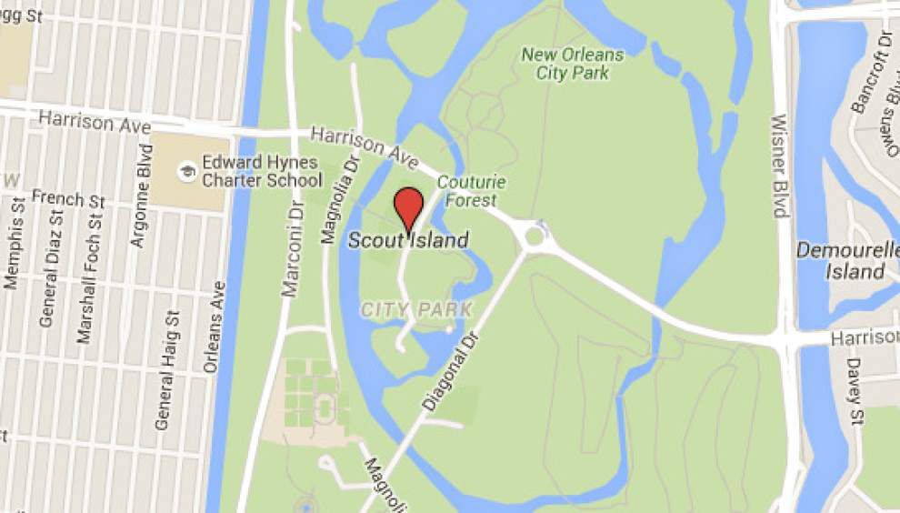 WWL-TV report: Charred dog remains, beer cans, candles found in New Orleans' City Park _lowres