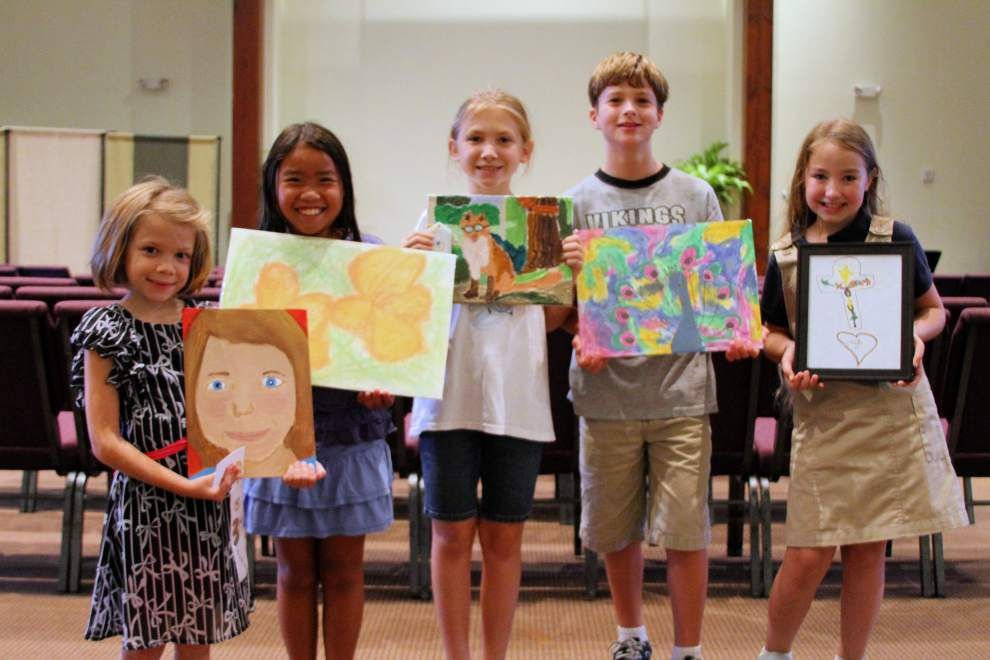 Children's winning art honored _lowres