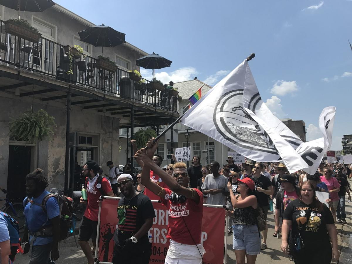 Massive crowd in New Orleans marches against white supremacy and in solidarity with Charlottesville_lowres