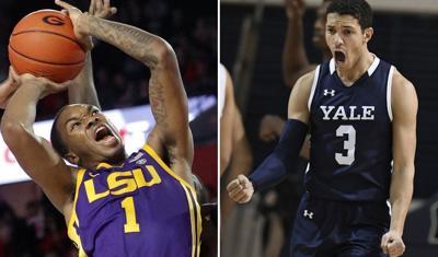 LSU Yale basketball