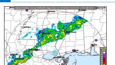 Tuesday radar