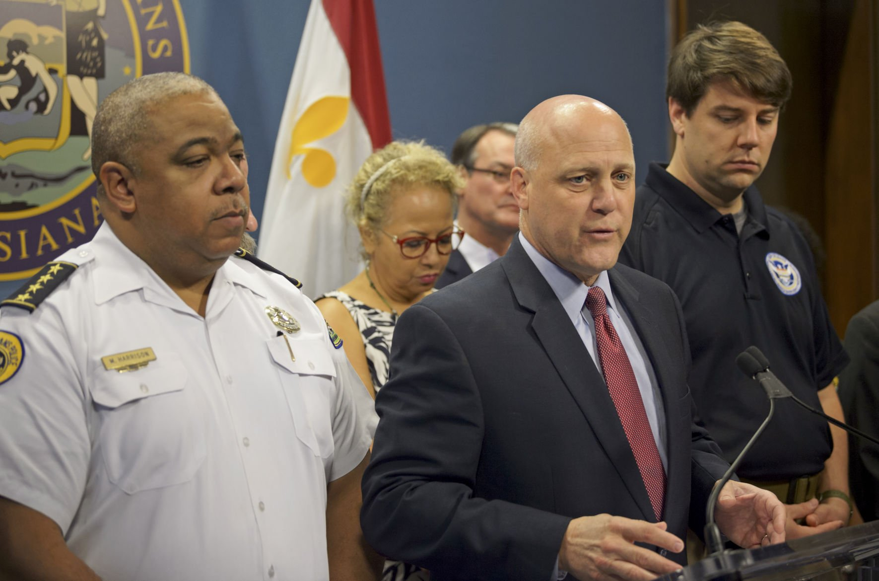PR Mayor Landrieu Provides Updates on Precautions in Advance of Hurricane Harvey