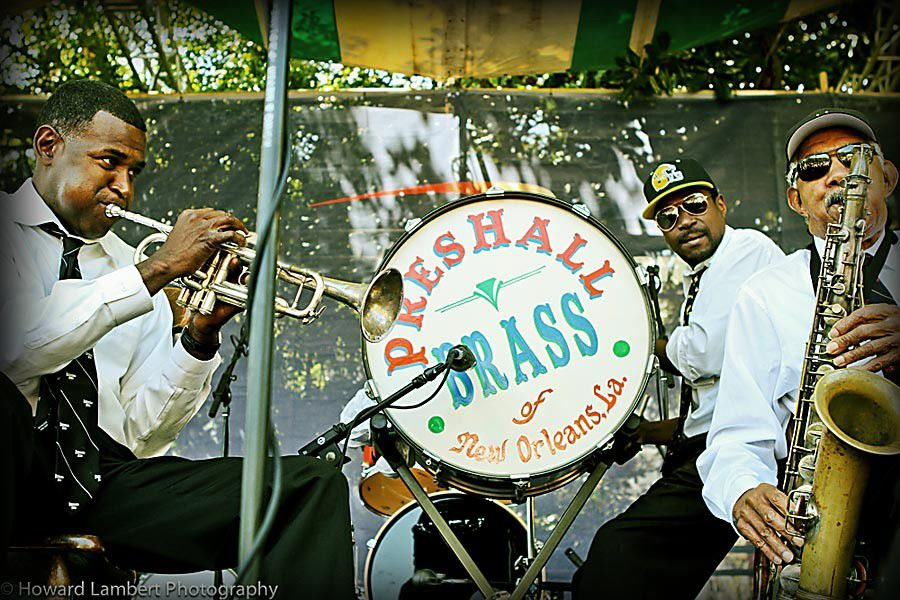 2015 New Orleans Jazz & Heritage Festival Preview: Pres Hall Brass_lowres