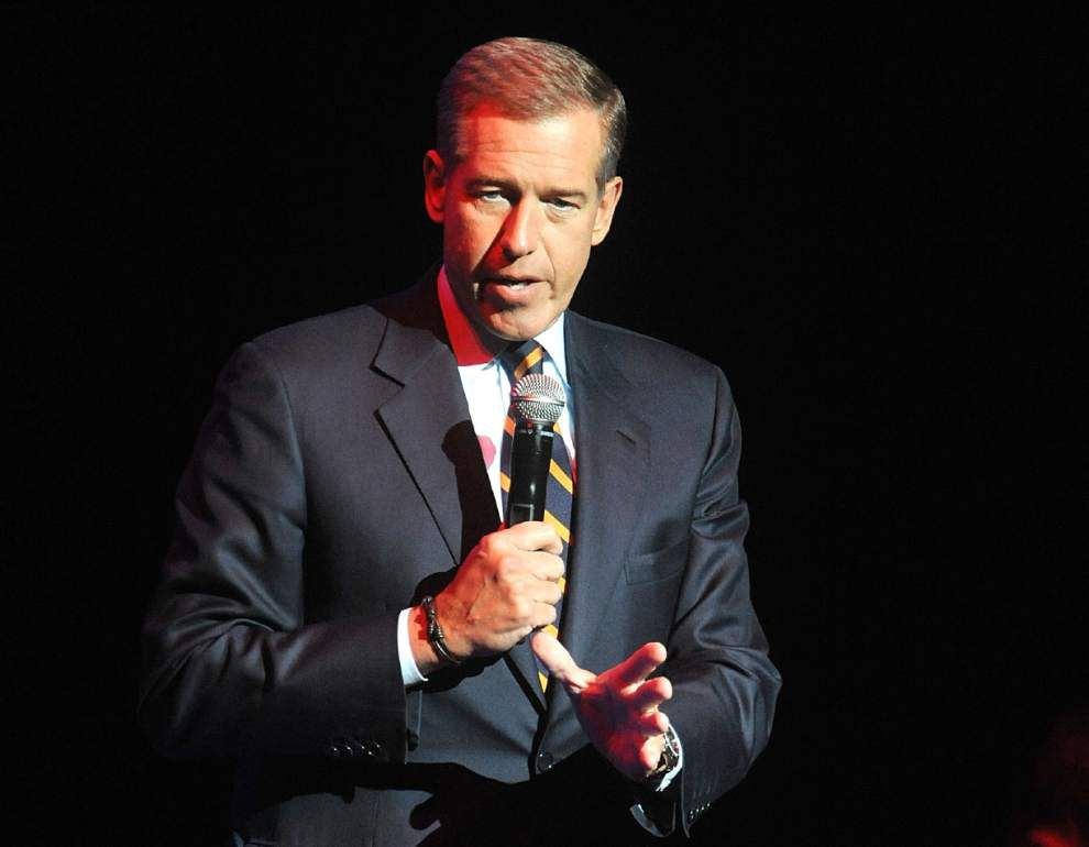 NBC's Brian Williams, who faced scrutiny over Katrina accounts, returns to air for pope coverage _lowres