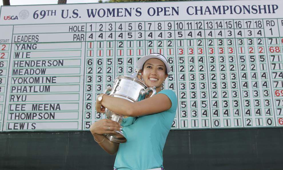 Michelle Wie holds on to win US Women's Open _lowres
