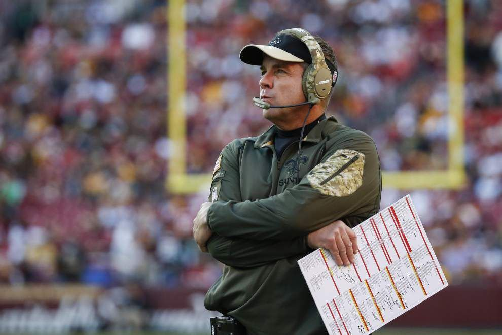 Saints collapse as their defense is overmatched in a 47-14 loss to the Redskins _lowres