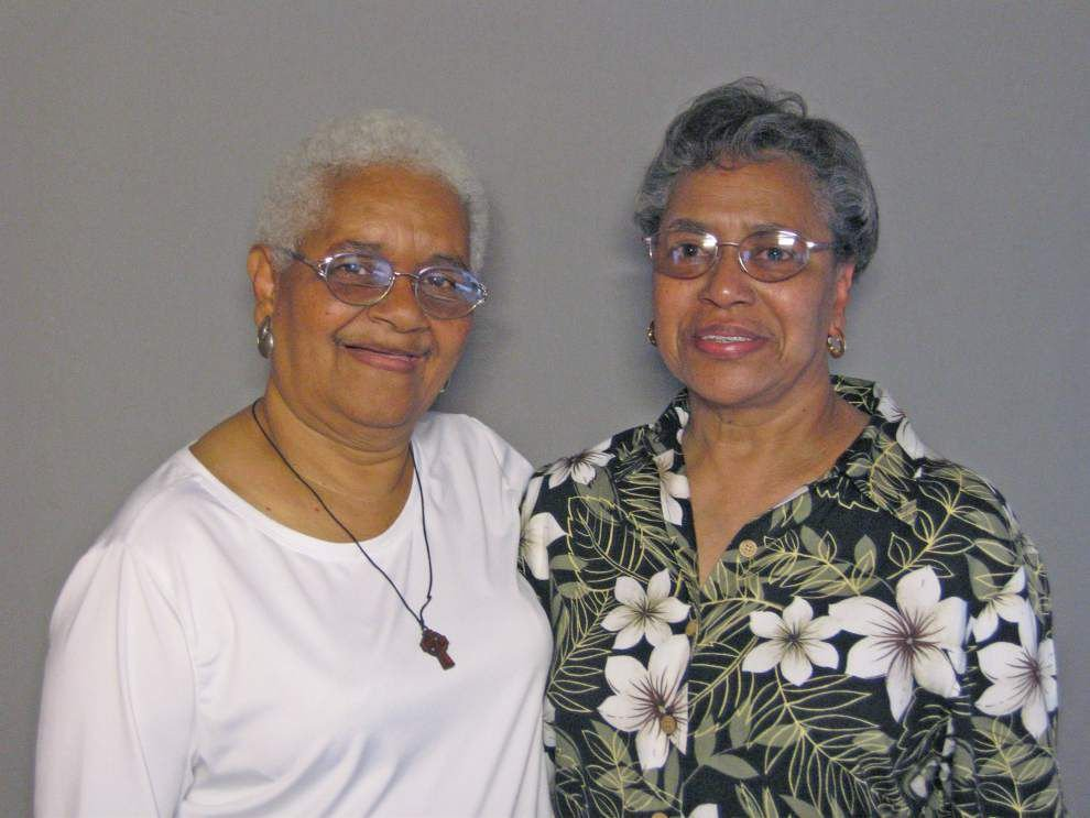 Katrina Firsthand: Sisters share concern for family scattered after storm _lowres
