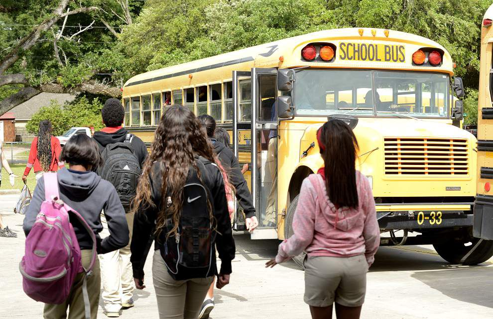 Bus transport bill for Laf. charter schools pulled _lowres