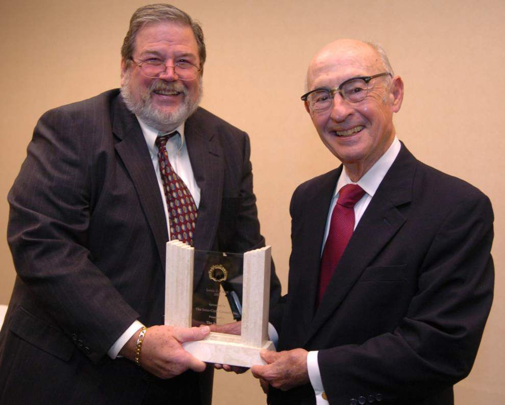Golden Deeds recipient Louis Curet dies; distinguished attorney supported LSU and numerous charities _lowres
