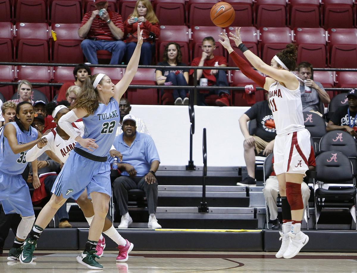 Tulane at Alabama WNIT