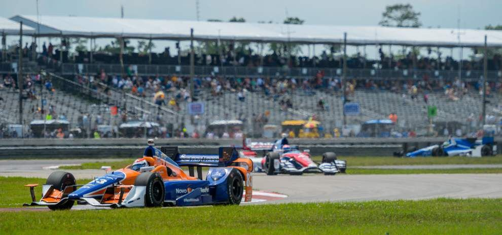 NOLA Motorsports Park challenged by first bout of rain Friday _lowres