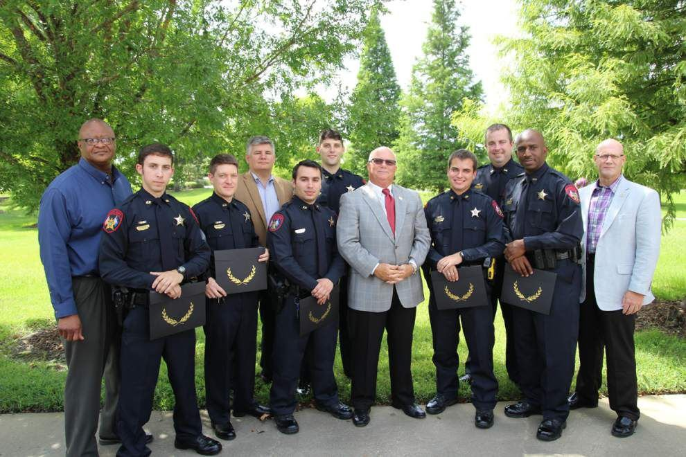 Seven Ascension Parish deputies graduate from training academy _lowres