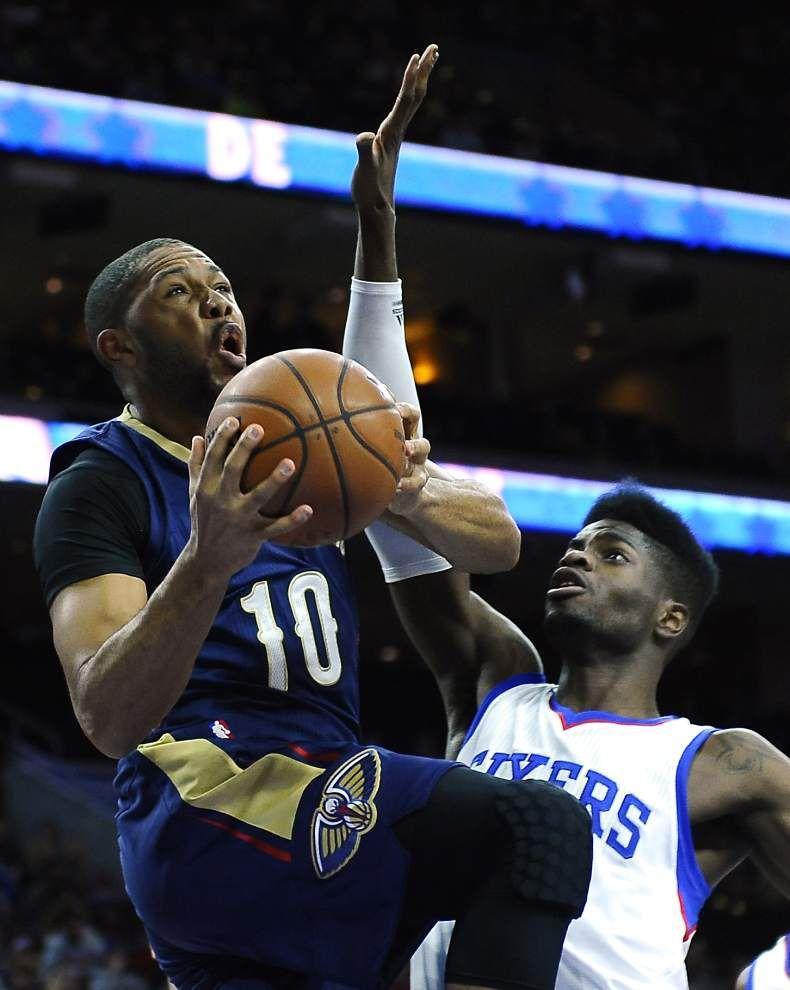 After letdown in Philadelphia, Pelicans wrap up road trip with games at Toronto and New York _lowres