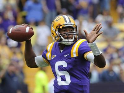 Spring game shows LSU QB battle is real _lowres