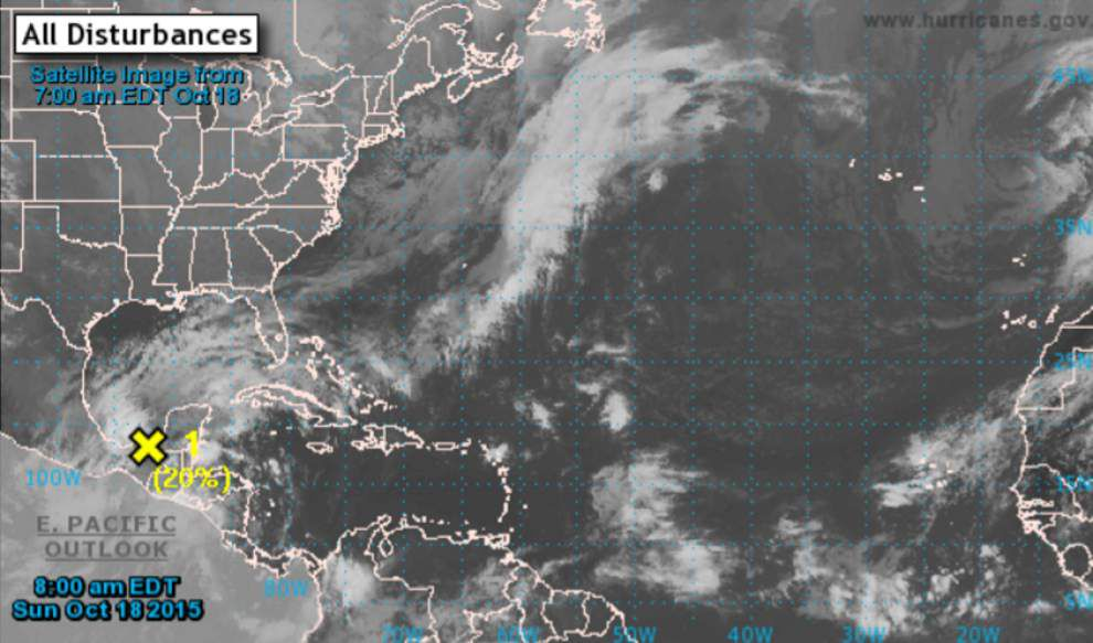 National Hurricane Center: Low pressure area may develop into tropical system in Gulf of Mexico next week _lowres