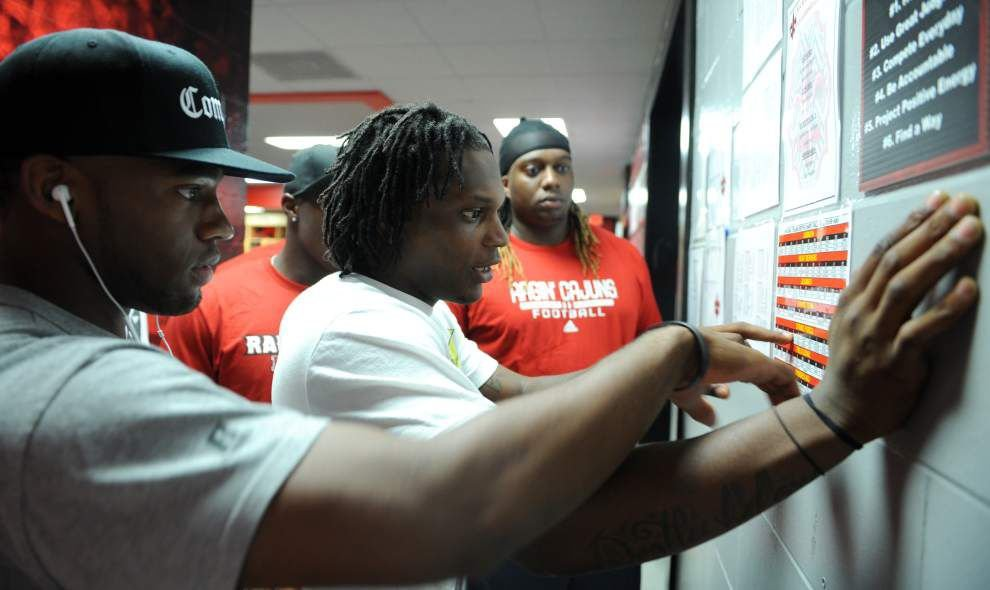 Cajuns report for fall camp _lowres