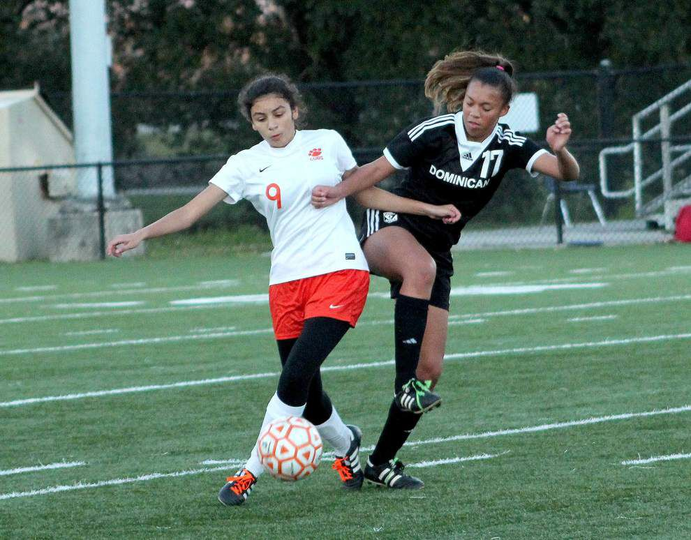 Mt. Carmel prevails over Dominican in girls soccer _lowres