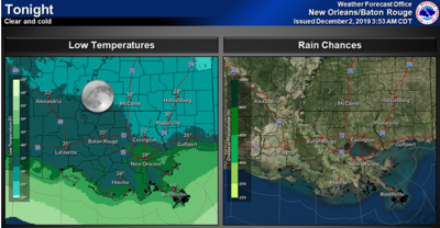 possible freeze Tuesday