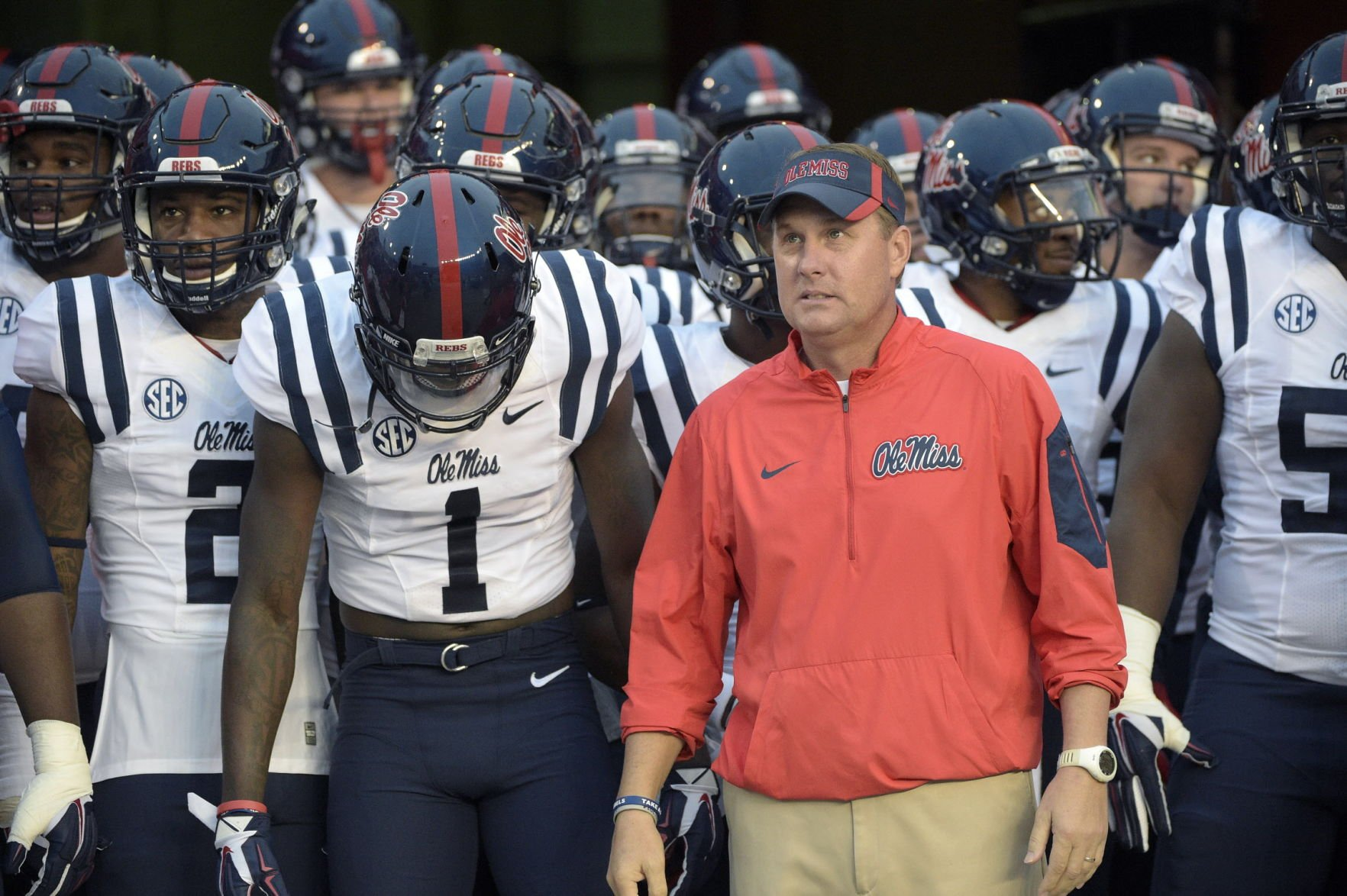 Ole Miss head coach Hugh Freeze resigns