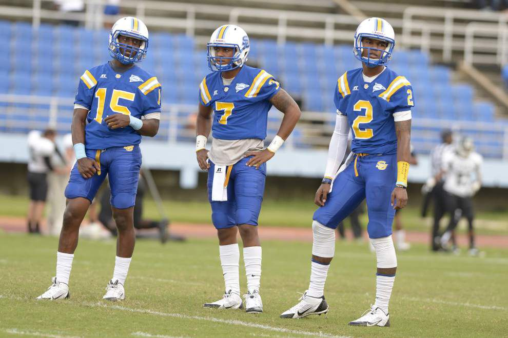East: No need for Southern to go with one quarterback just yet _lowres