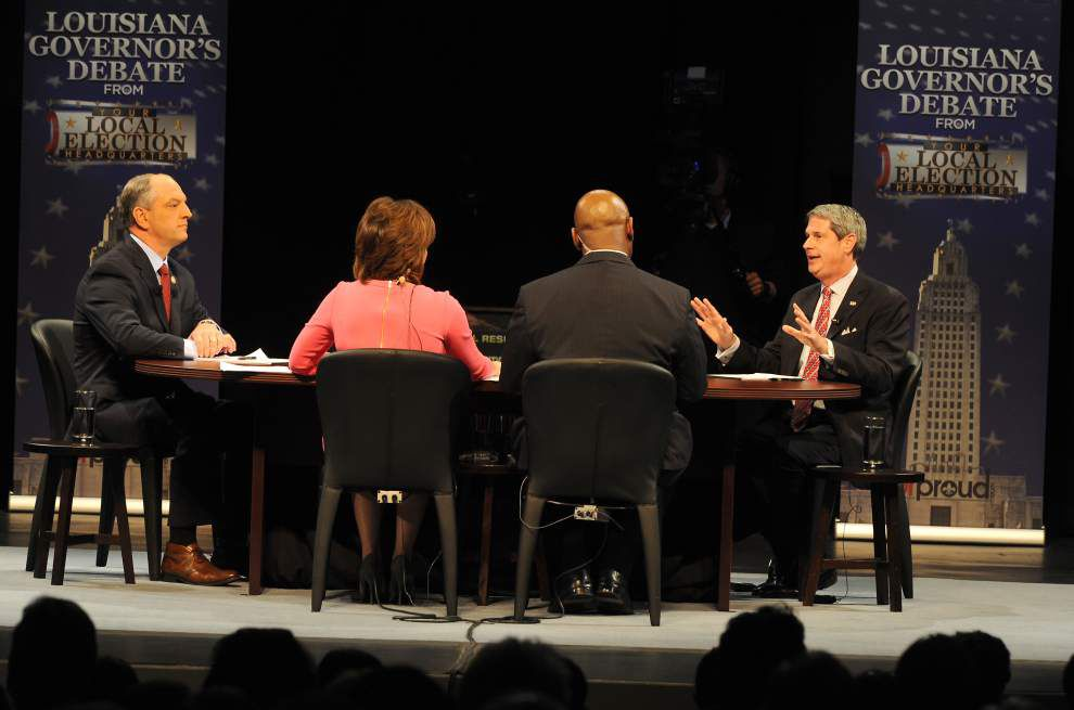 Stephanie Grace quick take: Jabs about prostitution scandal, Obama, Jindal make for boisterous governor's debate _lowres