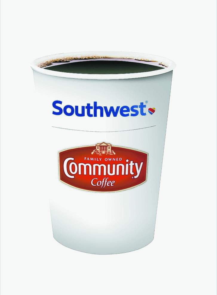 Community Coffee now served on all Southwest Airlines flights _lowres