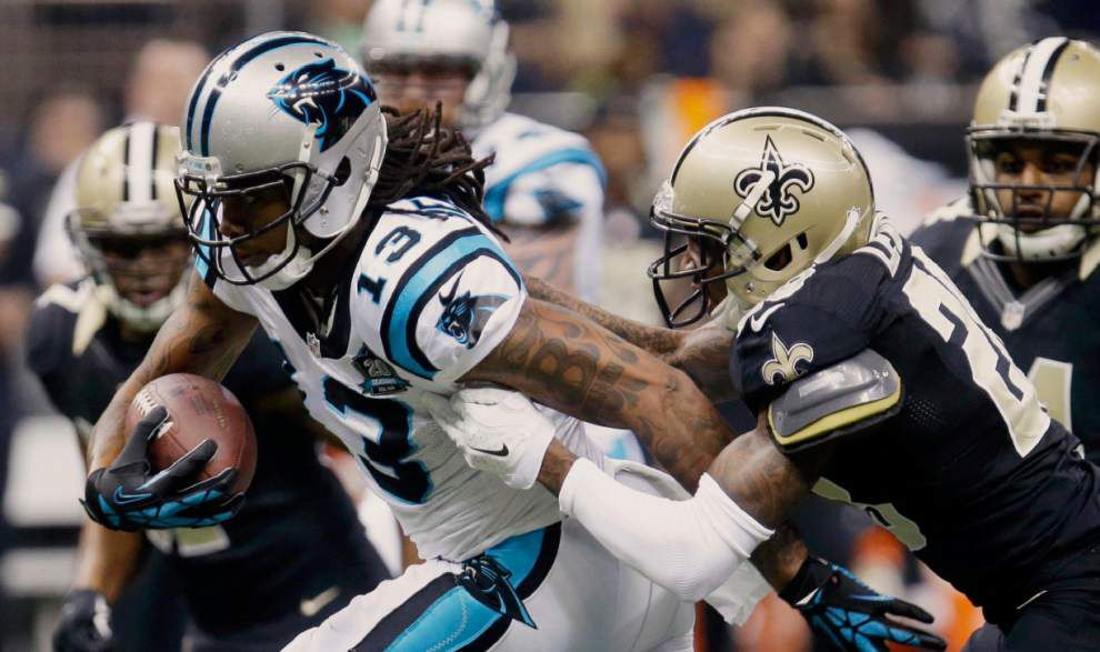 Saints are searching for answers after their 41-10 loss to the Carolina Panthers _lowres