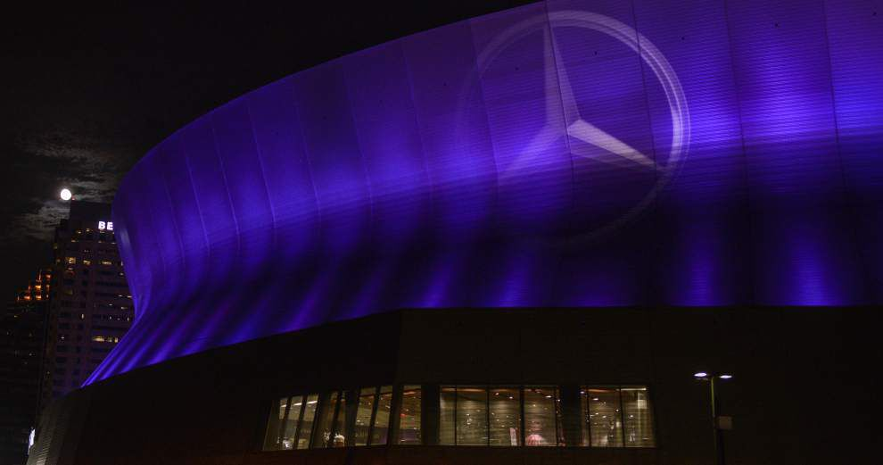 Even at 40, Mercedes-Benz Superdome has stayed fresh, but how much longer can it last? _lowres
